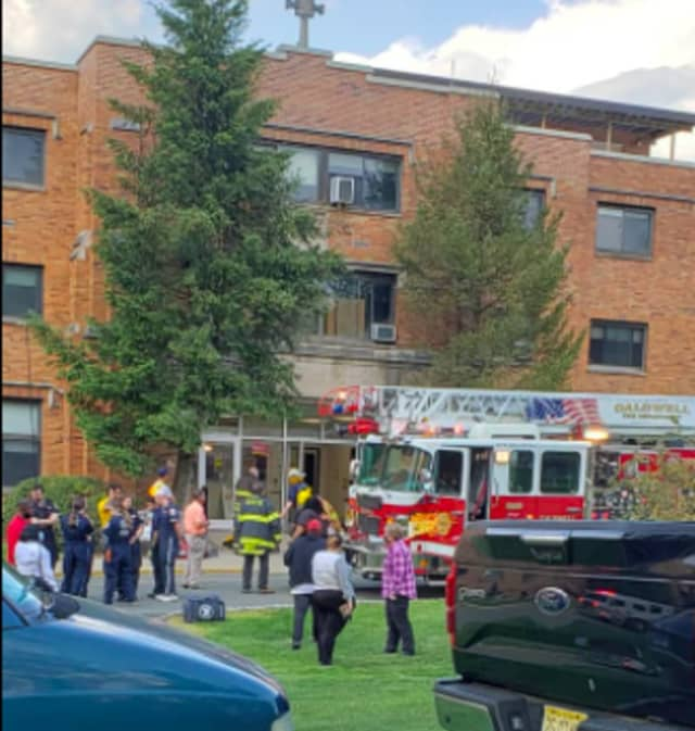 Crews responded to the Mother Joseph Residence Hall where the alarm was sounding and 2nd floor sprinkler system was activated at 5:17 p.m., the Caldwell Volunteer Fire Department said.