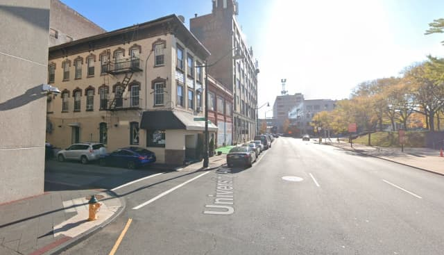 Area of Campbell Street and University Avenue in Newark
