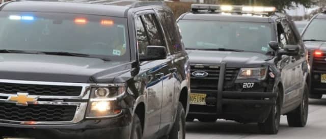 Montclair police cars