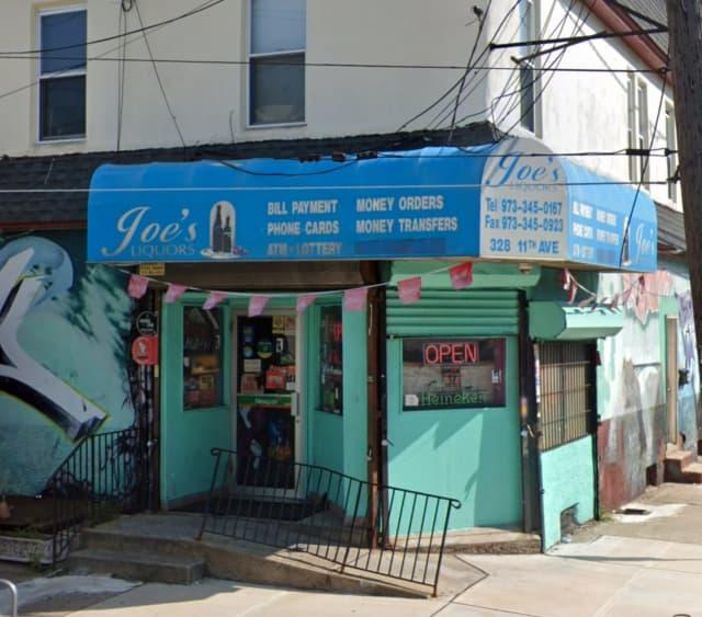 Joe's Liquor Store on 11th Avenue in Paterson.