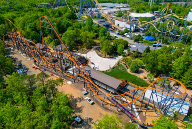 Billed as the world's tallest, fastest, longest single-rail ride, the Jersey Devil Coaster debuts on Sunday, June 13, at Six Flags Great Adventure in Ocean County.
