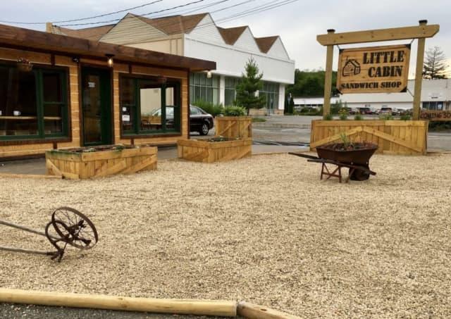 The Little Cabin Sandwich Shop in Cortlandt.