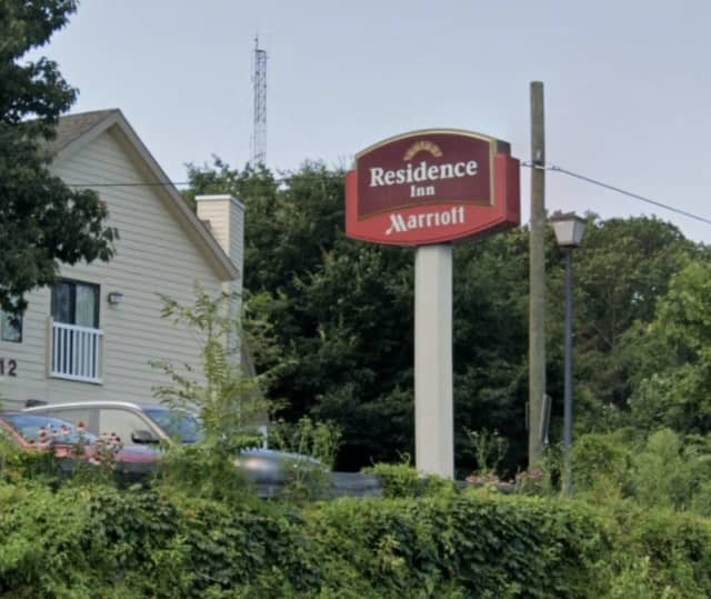 A Bridgeport man was found shot to death in the parking lot of an area hotel.