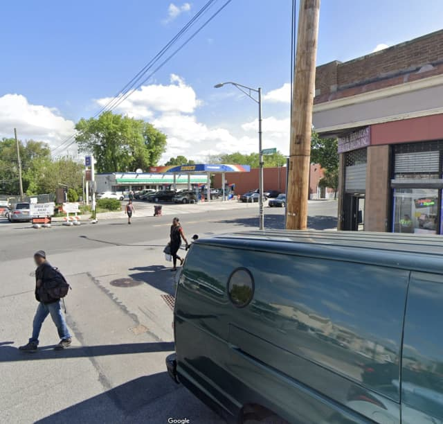 Gunshots rang out near the intersection of 14th Street and 1st Avenue