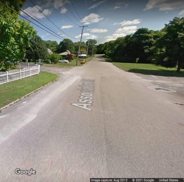 Associaton Road in Bellport.