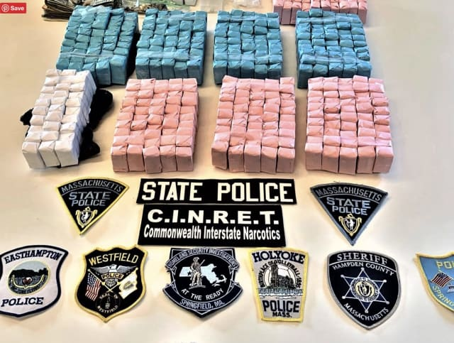 Some of the drugs seized.