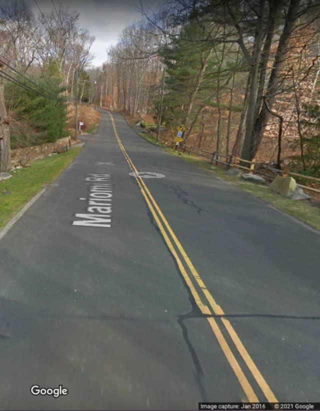 Mariomi Road in New Canaan.