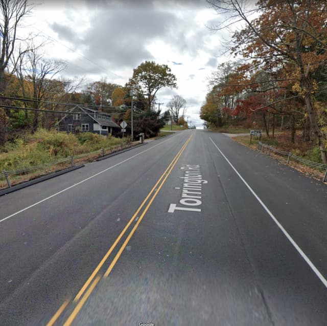 Torrington Road in the Town of Litchfield
