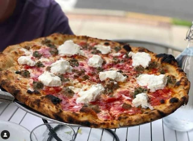 Bricco Coal Fired Pizza in Camden.