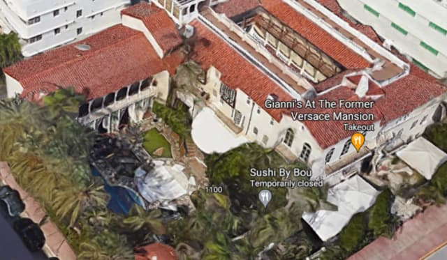 Italian fashion designer Gianni Versace's mansion was transformed into a luxury hotel in Miami.
