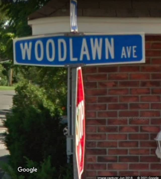 Woodlawn Avenue in Holtsville.