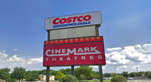Costco and Cinemark on Route 35 in Hazlet