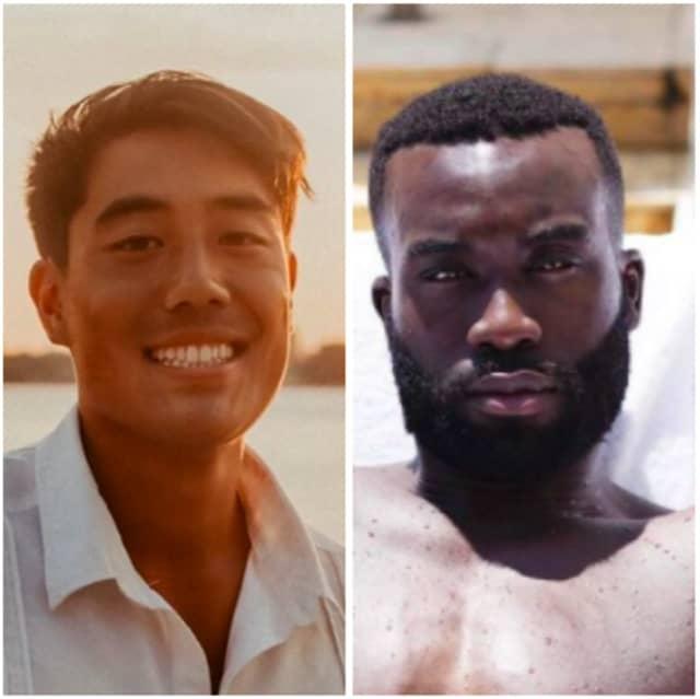 Eric Tai and Olumide Onajide