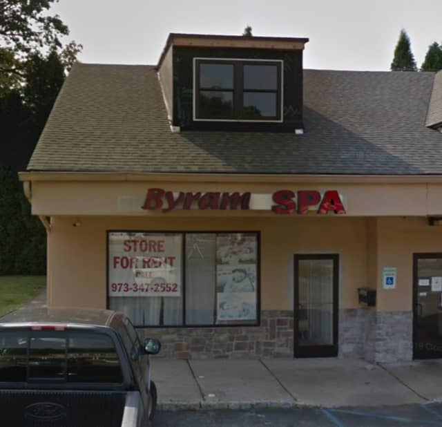 Byram Spa on Route 206 in Stanhope