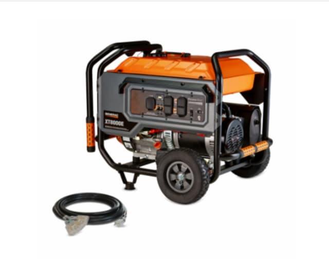 Generac and DR 6500 Watt and 8000 Watt portable generators are being recalled.