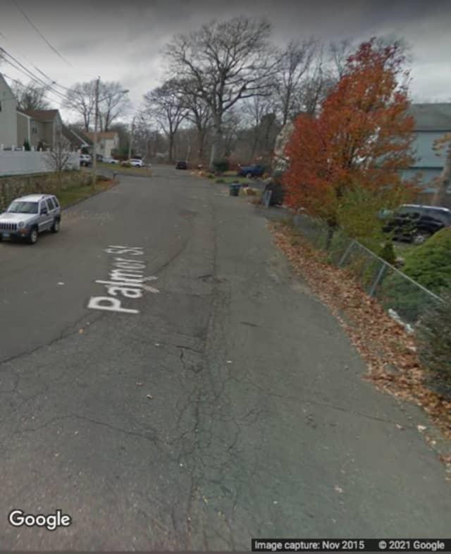 Palmer Street in Bridgeport.