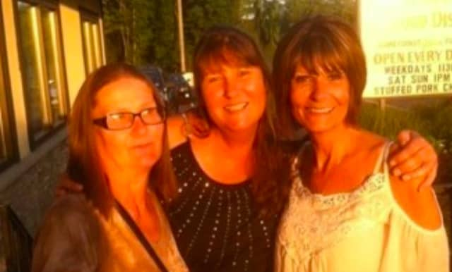 Star Wardell, far left, was struck and killed by a car in Egg Harbor Township last month.
