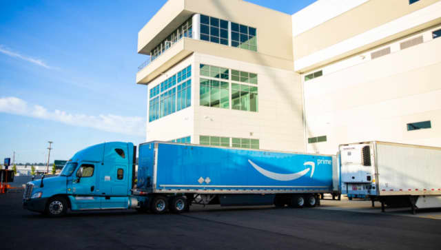 Amazon opened three new delivery stations last month in New Jersey.
