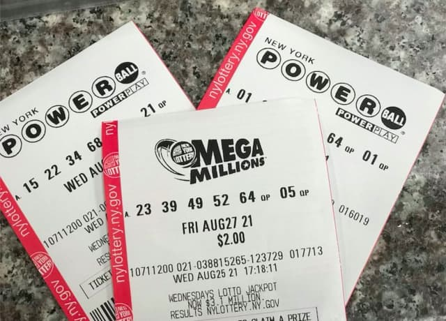 A Powerball ticket good for $1 million was sold in New Jersey.