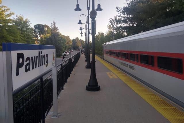 A woman was killed after being struck by an MTA train in Pawling.