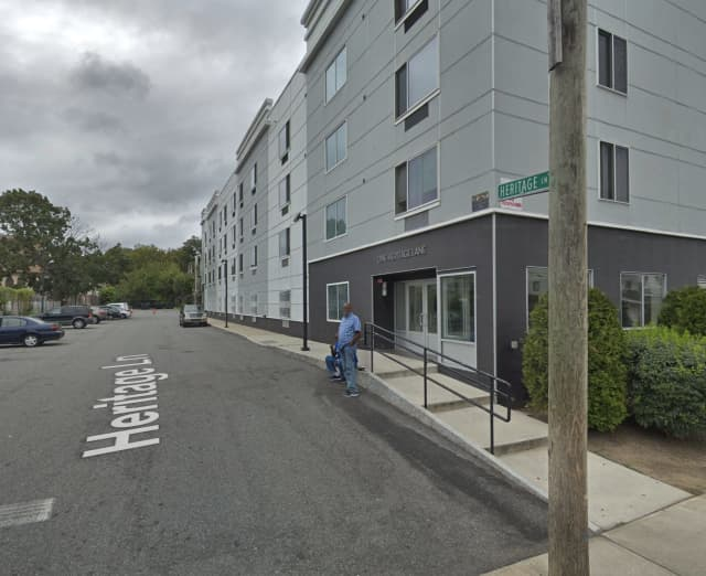 The Heritage Homes Housing Complex in New Rochelle.