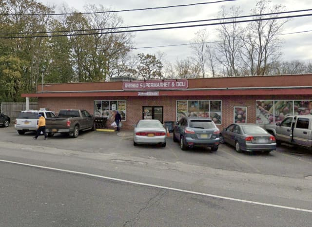 One of the stores busted for allegedly selling alcohol to minors on Long Island.