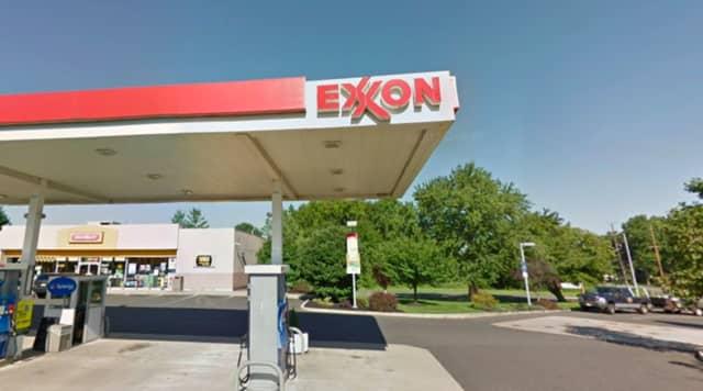 Whitehorse Mercerville Exxon on Whitehorse Mercerville Road in Hamilton (Mercer County).