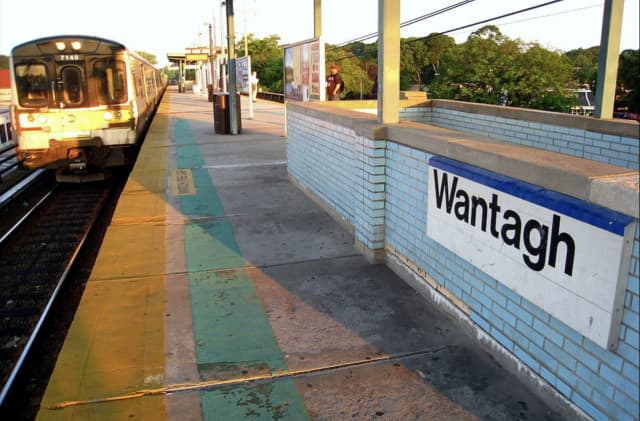 A person was killed by a train near the Wantagh train station.