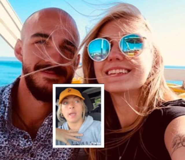 TikToker Miranda Baker says she gave Brian Laundrie a lift while driving through Wyoming around the time his 22-year-old fiance, Gabby Petito, went missing.