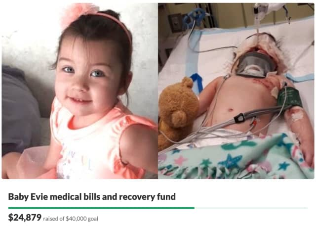 Support is on the rise for a North Jersey couple whose 3-year-old daughter was nearly mauled to death in a vicious dog attack.