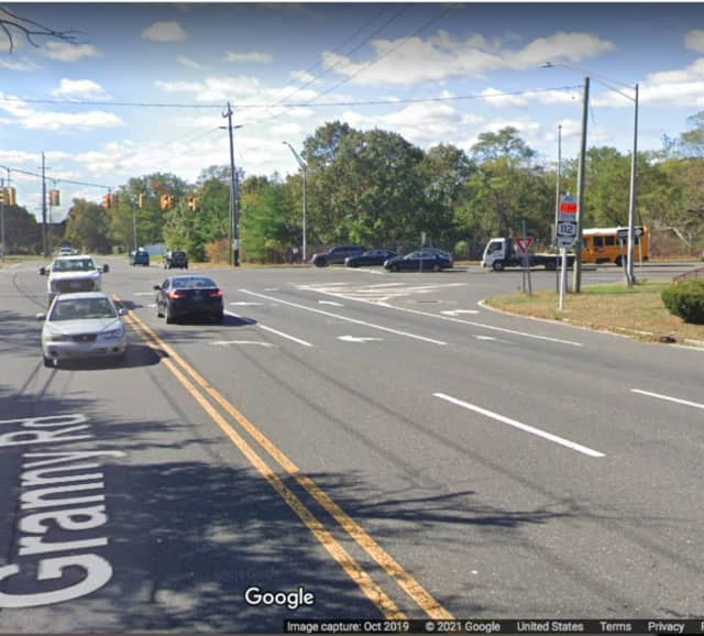 North Ocean Avenue and Granny Road in Medford.
