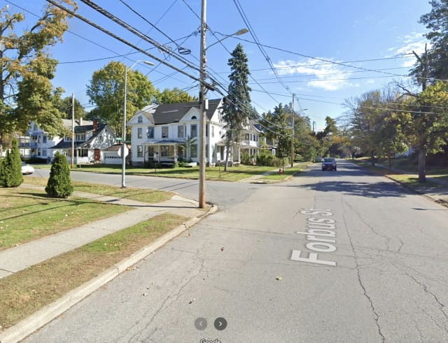 Gunshots rang out near a school bus at 20 Forbus St. in the City of Poughkeepsie.