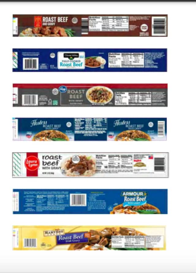 A look at labels involved with the recall.