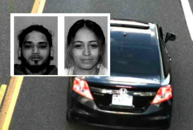 Ruben Carrion Melendez, 27, and Krystal Rivera, 25. The suspect vehicle is a black two-door 2012 Honda Civic with PA registration reading KXN4309, authorities said.