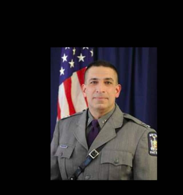 New York State Police Superintendent Joseph D'Amico urges drinkers to designate a sober driver.