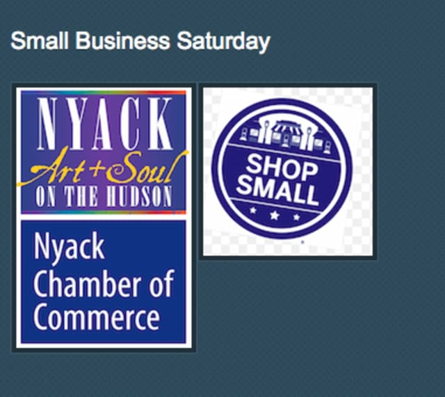 The Nyack Chamber of Commerce will sponsor a Small Business Saturday on Nov. 28.