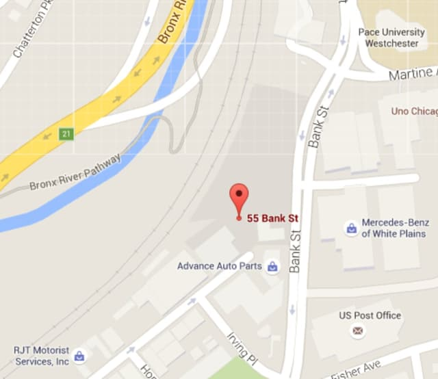 The site of the future building is at 55 Bank St., just a block from from the White Plains train station.