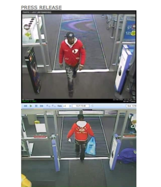 New York State Police are seeking to identify this man, who is accused of using someone else's Best Buy credit card to purchase $3,700 worth of Best Buy merchandise.