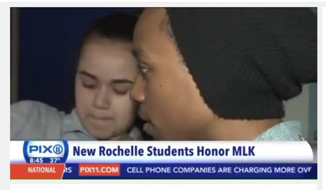 Students in New Rochelle have produced a film about Martin Luther King Jr. that was featured on WPIX Channel 11.