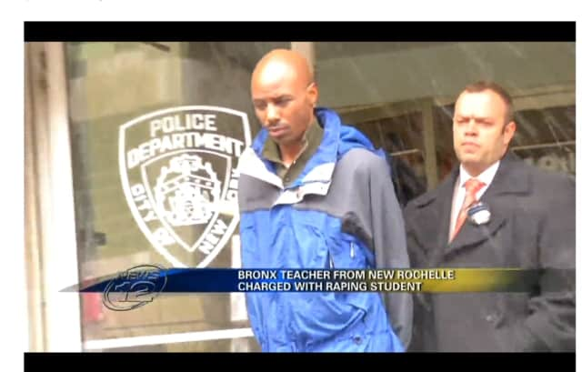 Siepo Sampson, a music teacher from New Rochelle, is accused of raping a 16-year-old girl.