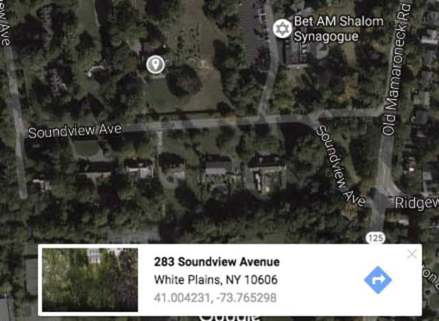 The owners of 283 Soundview Avenue in White Plains are seeking to have the home demolished.