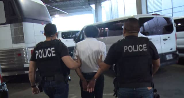 ICE Arrests Dozens Of Fugitives In N J, Elsewhere For Human