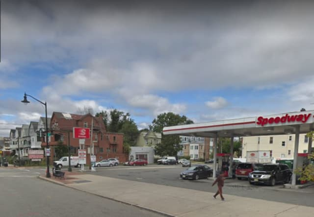 A Newark man was found in a vehicle parked on an Orange street early Saturday