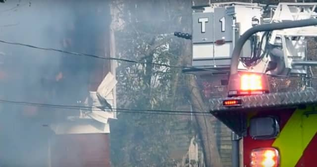 Fire broke out at a Summit home Monday, destroying virtually all of a family's belongings