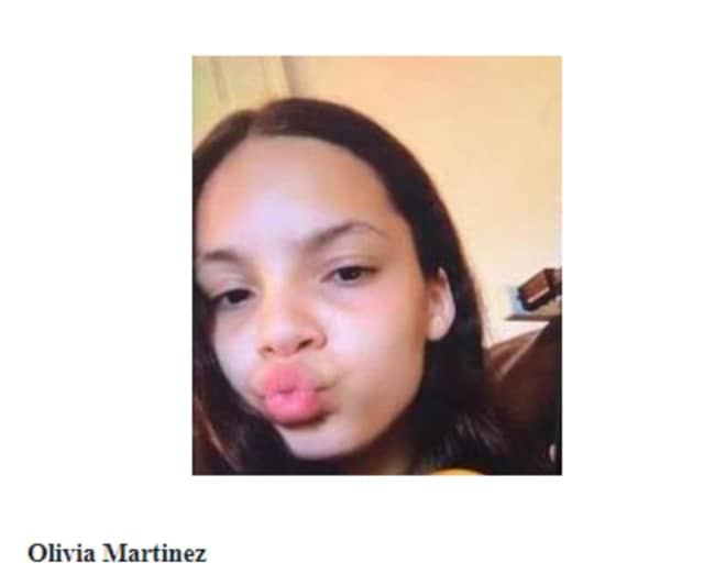 Olivia Martinez has been missing for more than a day, police said Saturday morning.