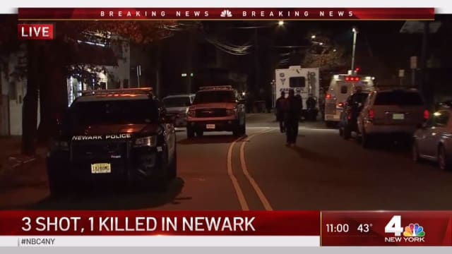 A shooting occurred near a barbershop in Newark Tuesday night, leaving one dead