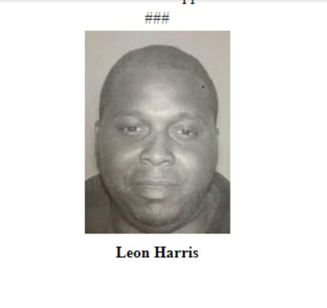 Leon Harris is wanted for assault on a Newark police officer.