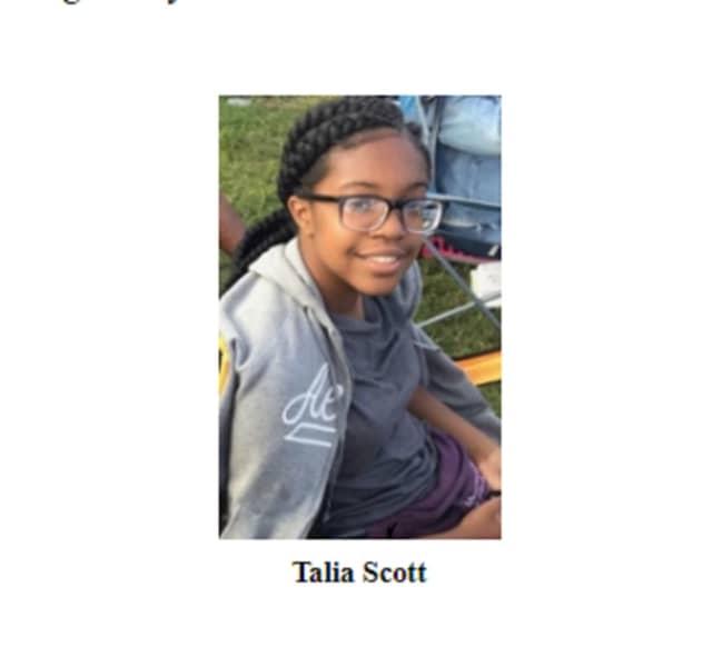 Talia Scott, 13