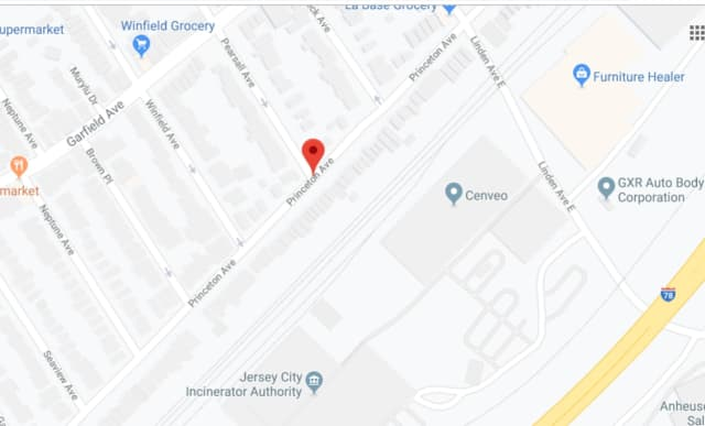 A 44-year-old man was found dead near Princeton Avenue in Jersey City Monday night.