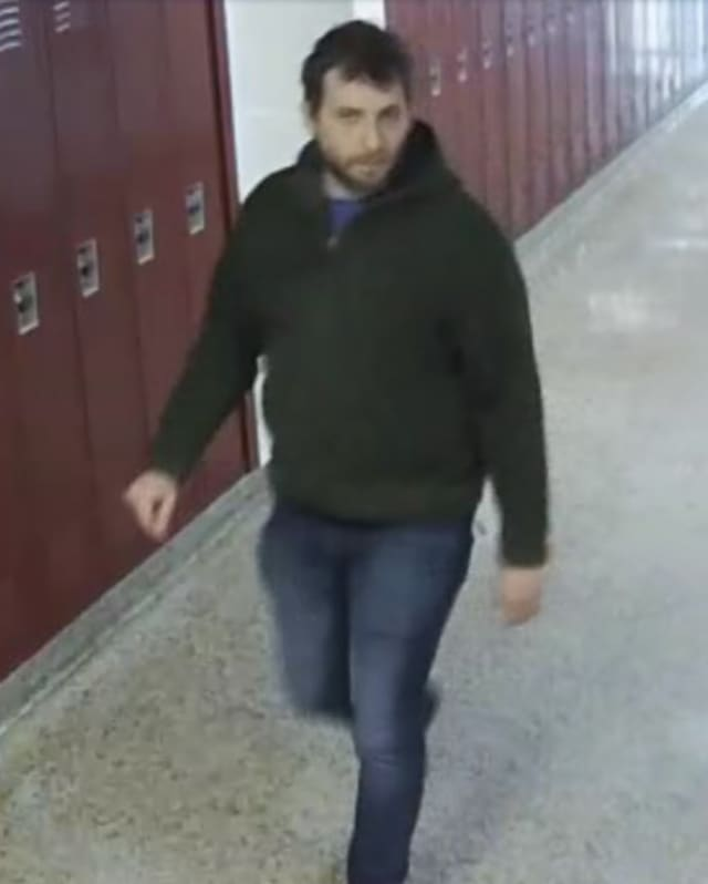 Anyone who can identify this man, who illegally entered Wayne Hills High School, is asked to contact Wayne police immediately at (973) 694-0600.